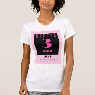 3 Day For The Cure t-shirt