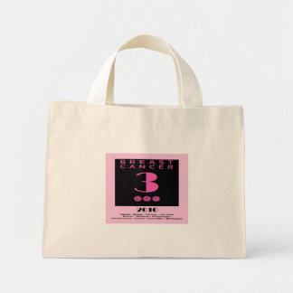 3 Day Walk For The Cure Mini Tote Bag