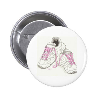 3 Day Walking Shoes 6 Cm Round Badge