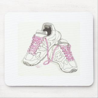 3 Day Walking Shoes Mousepads