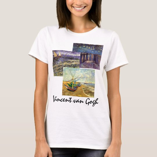 3 different Vincent van Gogh Vintage Maritime Art T-Shirt