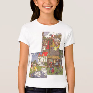3 different Vintage Classic Fairy Tales by Hauman T-Shirt