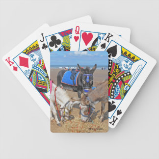 3 Donkeys Bicycle Playing Cards