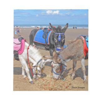 3 Donkeys Notepad