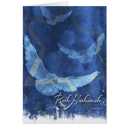 3 Doves-Rosh Hashanah Card