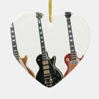 3 ELECTRIC GUITARS CHRISTMAS ORNAMENT