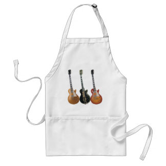 3 ELECTRIC GUITARS STANDARD APRON