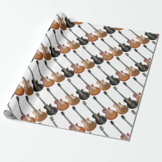 3 ELECTRIC GUITARS WRAPPING PAPER