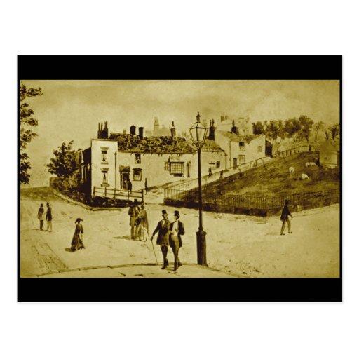 (3) Everton, Liverpool, 1868 Post Card