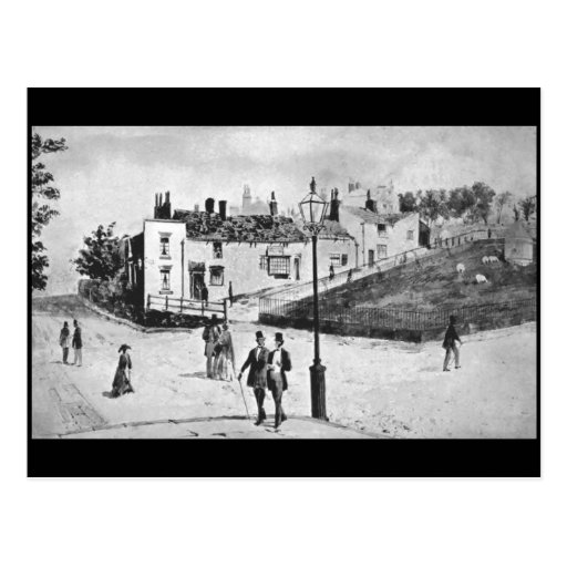 (3) Everton, Liverpool, 1868 Postcard