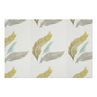 3 Feathers Print