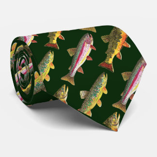 3 Fish for Trout Lovers - Brook, Rainbow, Brown Tie