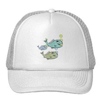 3 FISHIES GROOVIN' HATS