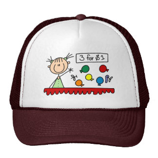 3 For $1 Fair Stick Figure Hat