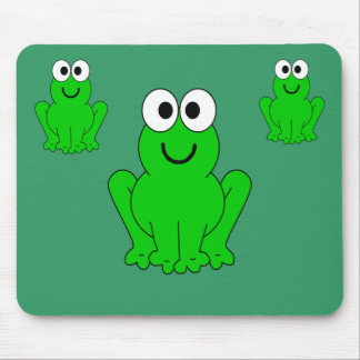 3-frogs mouse mat