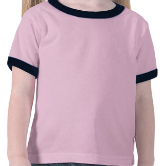 3 Fun Pink Flamingos in a Row Toddlers T-Shirt.