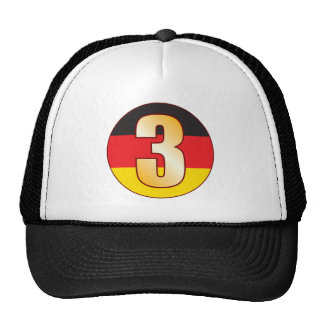 3 GERMANY Gold Cap
