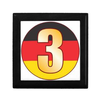 3 GERMANY Gold Gift Box