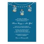 3 Hanging Mason Jars - Bridal Shower Invites