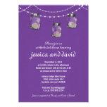 3 Hanging Mason Jars - Engagement Party Invite