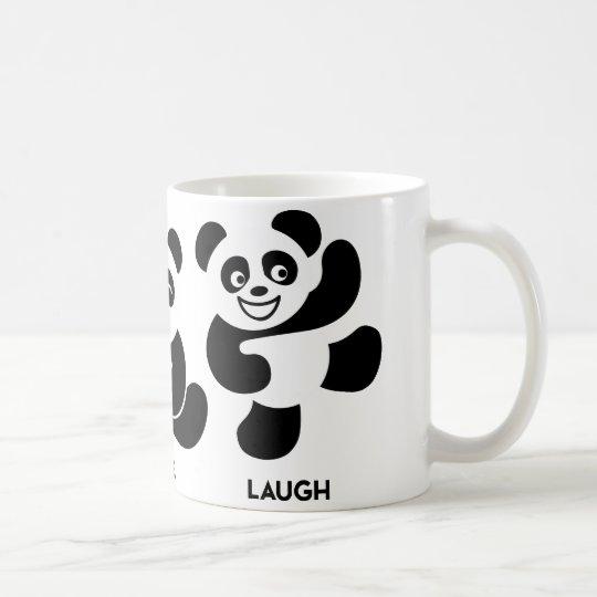 3 Happy Pandas Coffee Mug
