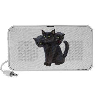3 headed kitty speaker system
