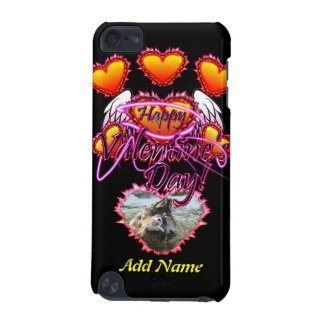 3 Hearts Angel Wings Happy Valentine s Day sign iPod Touch (5th Generation) Covers