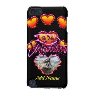 3 Hearts Be My Valentine neon sign iPod Touch (5th Generation) Case