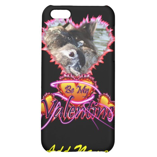 3 Hearts Be My Valentine neon sign iPhone 5C Covers