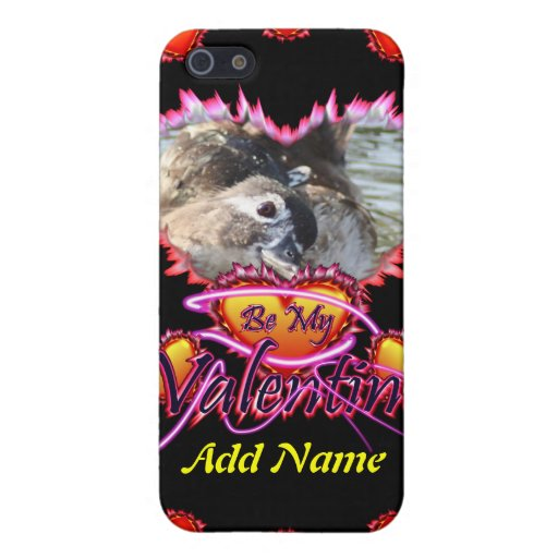 3 Hearts Be My Valentine neon sign iPhone 5 Covers