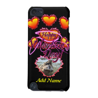 3 Hearts Happy Valentine s Day neon sign iPod Touch 5G Cases