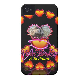 3 Hearts Heart Breaker neon sign iPhone 4 Covers