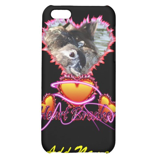 3 Hearts Heart Breaker neon sign iPhone 5C Cover