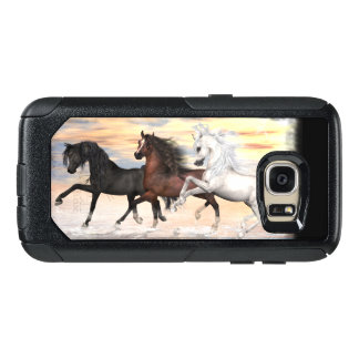 3 Horses Commuter Series Case, Pick Phone Style OtterBox Samsung Galaxy S7 Case