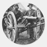 3 inch Ord Rifle Cannon - Civil War Sticker