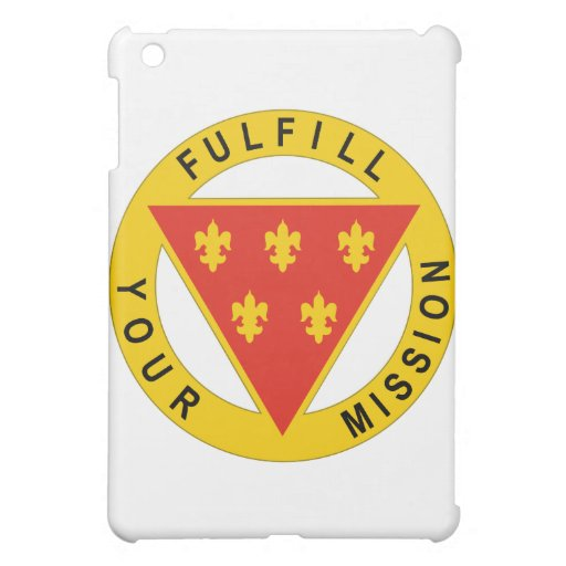 3 Infantry Division Artillery Case For The iPad Mini