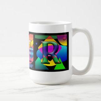 3 Initials Mug