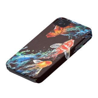 3 koi iPhone 4 covers