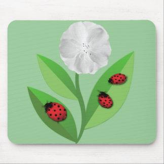 3 Ladybugs Mouse Mat