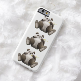 3 Lazy Pandas Barely There iPhone 6 Case