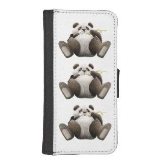 3 Lazy Pandas iPhone SE/5/5s Wallet Case