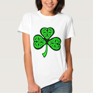 3 Leaf Celtic Shamrock Tshirts