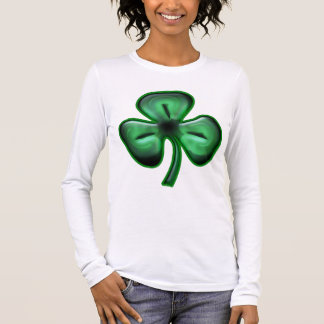 3 Leaf Clover Long Sleeve Long Sleeve T-Shirt