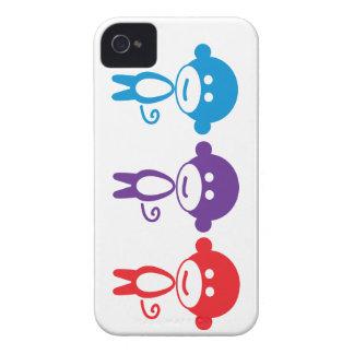 3 lil monkeys phone case Case-Mate iPhone 4 case