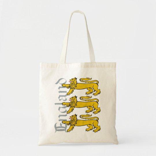 3 Lions England Tote Bag