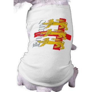3 Lions on St George's Cross Shirt