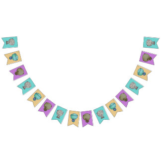 3 Little Monsters Bunting