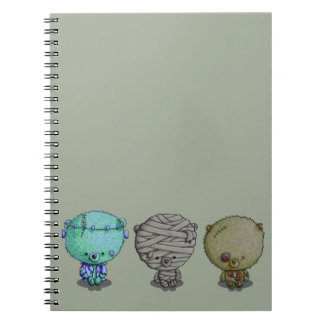 3 Little Monsters Notebooks
