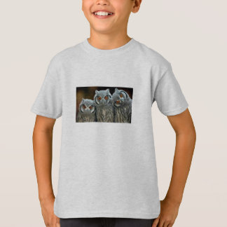 3 Little Owls T-Shirt