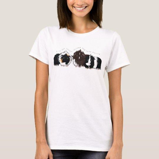 3 long haired piggies T-Shirt